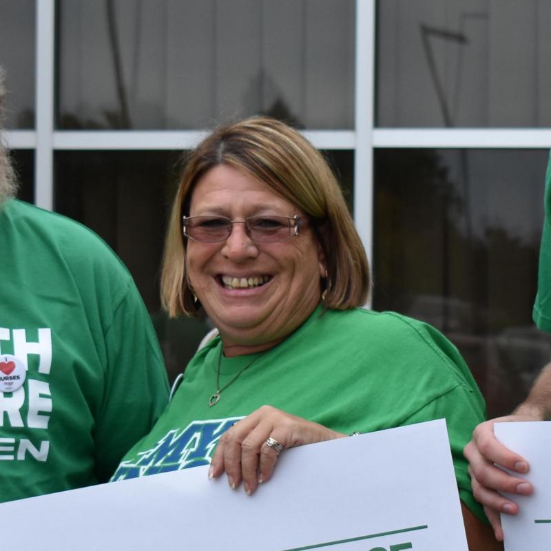 Sheila Pokorny, Labor Representative