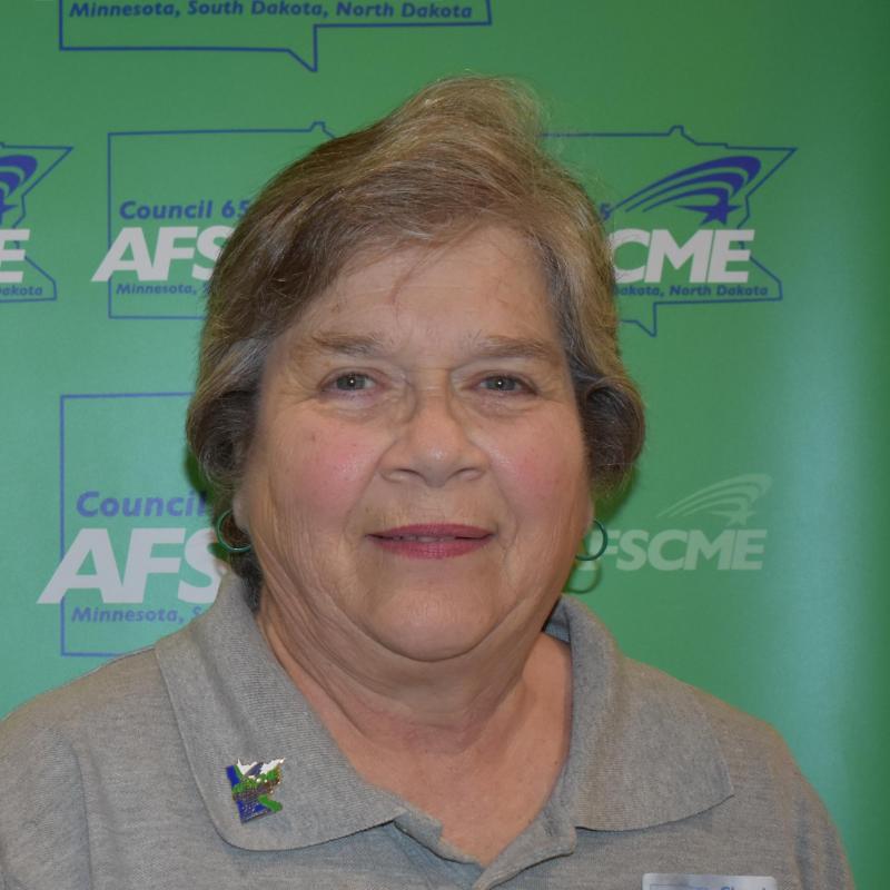 Retiree President, Cheryl Jones