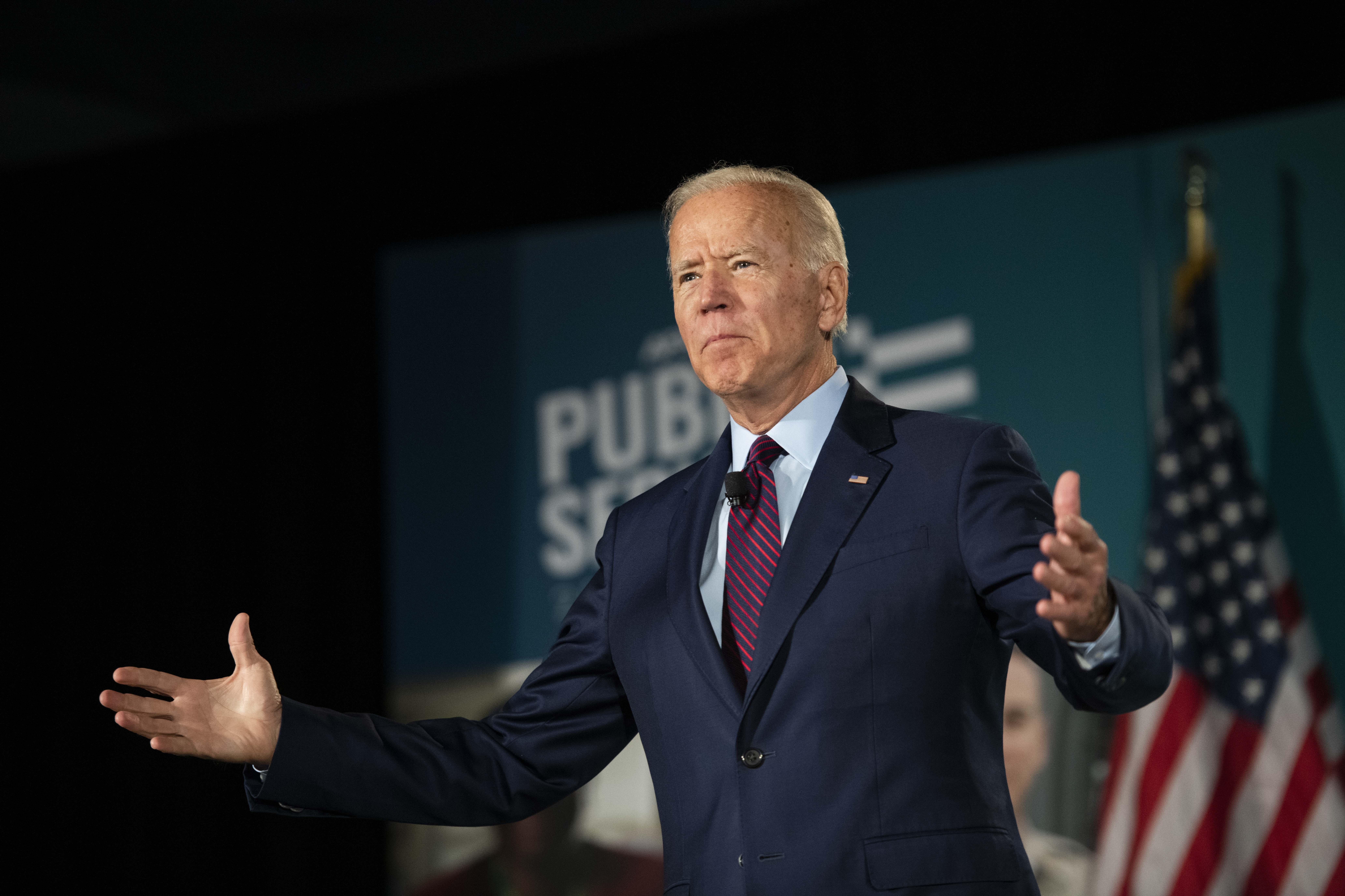 Former VP and AFSCME Endorsed Presidential Candidate Joe Biden